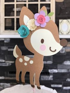 Excited to share this item from my shop: Deer cake topper , out little deer , oh deer , baby shower , firrest friends party Wild One Birthday Party, Baby Birthday, First Birthday Parties, First Birthdays, Deer Baby Showers, Boho Baby Shower, Baby Shower Cakes, Deer Cakes, Oh Deer
