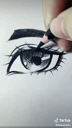 Discover recipes, home ideas, style inspiration and other ideas to try. Art Drawings Sketches Simple, Pencil Art Drawings, Realistic Drawings, Easy Drawings, Art Drawings Beautiful, Diy Canvas Art, Drawing Techniques, Art Tutorials, Manga Eyes