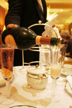 Afternoon Tea at The Dorchester, with champagne