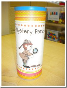 mystery person