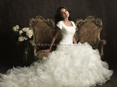 Wedding Gown Collection 1 Malena TOTALLY MODEST # 1 choice for Modest Wedding Dresses with sleeves, Bridesmaids and Prom