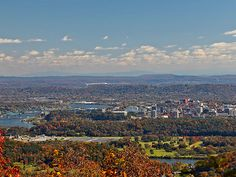 Fall in Chattanooga Tennessee