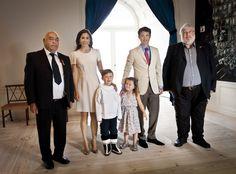 Crown Prince Frederik, Crown Princess Mary, Prince Christian, & Princess Isabella, 2011.