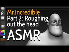 In this video, I will start roughing out the shape of the head for Mr. I hope you will enjoy and feel relaxed. Animation Tutorial, Hair Creations, Character Creation, Asmr, Zbrush, I Hope You, Sculpting, Modeling, The Incredibles