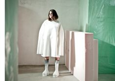 The Fashion Architect: Second year womenswear student Ernesto Naranjo shows at Madrid Fashion Week | Fashion, Fashion Show, Students, The White Series | 1 Granary