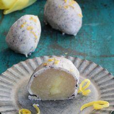 Påske – lakridsæg med marcipan og lemoncurd