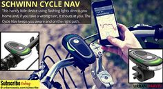 Schwinn CycleNav #Bike #Navigation
