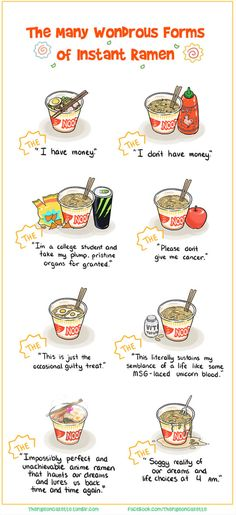 """Oh God I was just """"doing"""" a maths question abt the unhealthyness of cup noodles when I happened to see this...I know my maths hmk is awesome right?"""