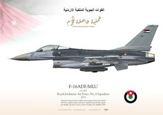 "سلاح الجو الملكي الأردنيRoyal Jordanian Air Force. No. 6 Squadronعملية عاصفة الحزم Operation ""Decisive Storm"". Military intervention in Yemen since March 2015 by a coalition of nine Arab states, leaded by Saudi Arabia"