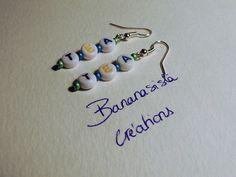 Earrings by Bananasista creations @ amazon handmade