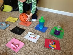 Colors and Matching. #Toddler #activities
