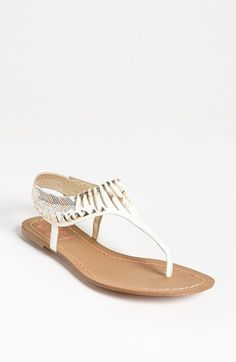 Possible Graduation Shoes? Circus by Sam Edelman Brina Sandal | Nordstrom