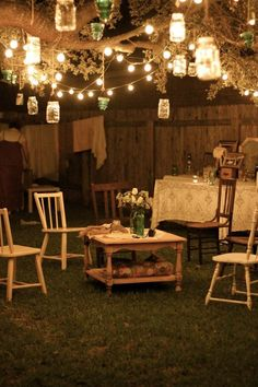 10 Outdoor Lighting Ideas for a Shabby Chic Garden #6 is Lovely |iDLights