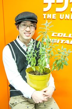 Mr.Suzuki  https://www.facebook.com/herbsdiary