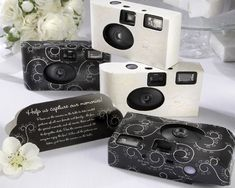 Cameras for guests to use, to help you get extra special moments.