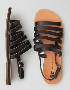 BC Footwear takes classic silhouettes and transforms them into iconic pieces you can't live without. Flip Flop Sandals, Strap Sandals, Shoes Sandals, Fashion Sandals, Mens Outfitters, Huaraches, Black Sandals, American Eagle Outfitters, Slippers