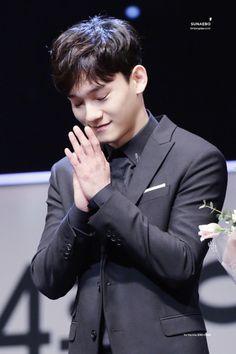 Chen - 170216 4th EDaily Culture Awards  Credit: Sunaebo. (제4회 이데일리 문화대상)