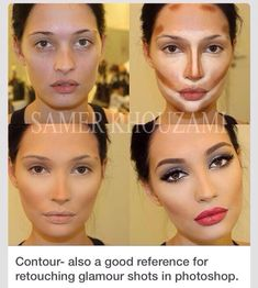 The Best Way To Contour Your Face #Beauty #Trusper #Tip