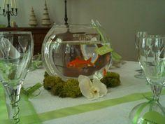 Décoration de table poisson