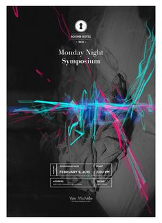 Monday Night Symposium Poster for Rooms Hotel Tbilisi