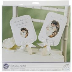 Wedding Program Fan Kits, or Start From Scratch