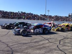 Woody Pitkat, Justin Bonsignore on the front row for the 2014 Icebreaker