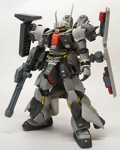 1/144 Zaku III Custom - Customized Build - Gundam Kits Collection News and Reviews