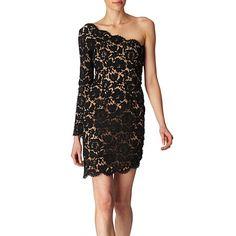 Asymmetric lace dress by Stella McCartney