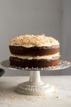 Banana-Coconut Layer Cake Recipe - NYT Cooking