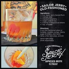 Sailor Jerry old fashioned