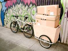 Make a Cheap and Easy Bike Cargo Trailer
