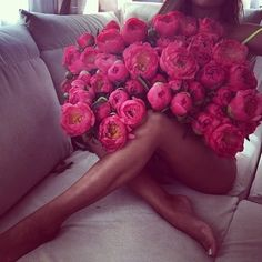 Bouquet of flowers! My Flower, Pretty In Pink, Beautiful Flowers, Flower Bomb, Perfect Pink, Beautiful Legs, Girls Run The World, Girly Things, Photos