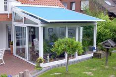 Gartengestaltung - Balcony or terrace glass conservatory - Build on a beautiful winter garden