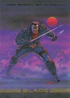 Blade 1993 Marvel Masterpieces
