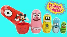 Yo Gabba Gabba Stacking Cups Play Doh Surprise Eggs For Children Learn Colors Nesting Poupées Russes. Nesting Dolls are also known as matriochka babushka babooshka babushka's doll matroshka matruska matryushka 요 가바 가바 플레이도 Poupées Russes matryoshka matrioshka matreshka or Russian dolls Play Doh is also known as лепка из глины Crayola Muovailuvaha 플레이도 Ciastolina เพลยโดว 培樂多 plastilina pasta de modelar Arcilla juegos de moldear juegos de modelar Softee-Dough Moon-Dough Clay Plasticine Pâte...