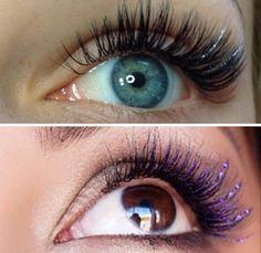 glitter lashes - Google Search