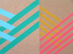 Love these colors. I can see it on Kraft paper