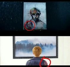 Was that supposed to be Hobi? I'm not sure who that painting was of