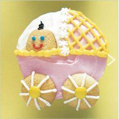 Stroller cupcake