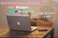 Are you curious or interested in starting your own blog but you are the kind of person that learns better with visual tutorials?  Do you want to see exactly how you can set up a blog and get informed about all the blogging techniques, strategies that bloggers use, traffic tips and so much more all in one day without reading long posts?  If so, I have created an online course on Udemy all about blogging so that you can do just that.