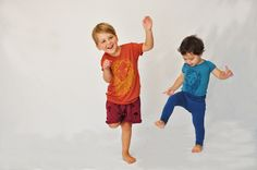 Boys Bamboo T shirt and Onesies Hand Illustrated Lion Print