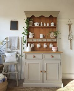 "Outstanding ""bar furniture for sale"" info is offered on our web pages. Take a look and you wont be sorry you did. Pine Furniture, Cabinet Furniture, Upcycled Furniture, Kitchen Furniture, Furniture Makeover, Kitchen Decor, Shabby Chic Kitchen Dresser, Wabi Sabi, Upcycled Kitchen Cabinets"