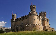 Castillo de Manzanares el Real #madrid #promospain