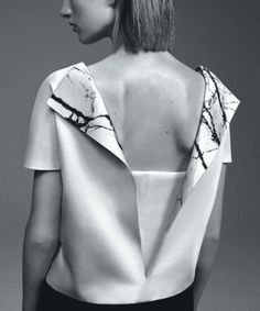 "opaqueglitter:  Vogue Australia September 2013,Ashleigh Good wears Balenciaga,Photographed byBenny Horne""An American in Paris"""