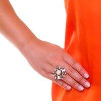 Anel Floco Navete • Caleidoscópio Jewelry