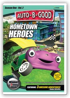 Auto-B-Good: Hometown Heroes // The younger cars learn the importance of citizenship and loyalty as Franklin tells the story of CJ Willy and the sacrifice he made for his fellow soldiers. Also included are lessons on politeness, independence and patriotism. This video will drive home the message of character with award winning animation and fun!