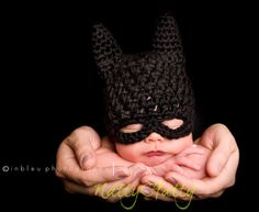 Hey, I found this really awesome Etsy listing at https://www.etsy.com/listing/174169897/batman-hat-crochet-batman-hat-batman