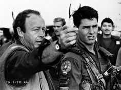 Tony Scott and Tom Cruise