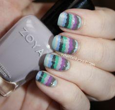 rebecca likes nails - dotting...