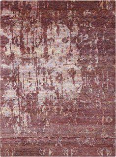 Nourison Wine Silk Shadows rug - Vintage Rectangle x Synthetic Rugs, Tabriz Rug, Natural Rug, Color Names, Shag Rug, Shadows, Silk, Design, Ombre